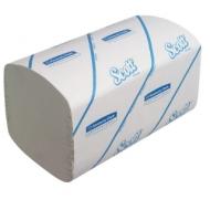 Полотенца бумажные лист. Kimberly-Clark Scott, (S-сл), 1-слойные, 274л/пач, 21*21,5, белые