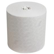 Полотенца бумажные в рулонах Kimberly-Clark Scott Essential, 1-слойные, 350м/рул, белые