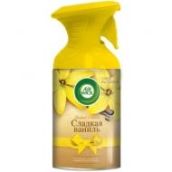 Освежитель воздуха аэрозольный Airwick Pure. Сладкая ваниль, сухое распыление, 250мл