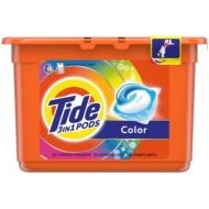 Капсулы для машинной стирки Tide Color, 3в1 Pods, 15шт.*24,8г