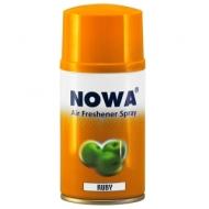 Сменный баллон для освежителя воздуха Nowa Ruby, яблочный аромат, 260мл
