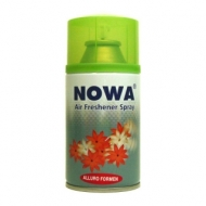 Сменный баллон для освежителя воздуха Nowa Allure for men, мужской аромат, 260мл