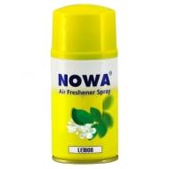 Сменный баллон для освежителя воздуха Nowa Lemon, лимонный аромат, 260мл