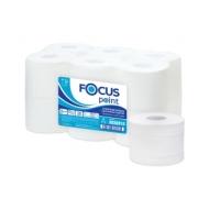 Бумага туалетная Focus Point с лист.подачей, 2 слойн, 120 м/рул, тиснение, белая