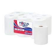 Полотенца бумажные в рулонах Focus Extra Quick, 2-слойн, 150 м/рул, (втулка диаметром 50мм), белые