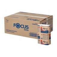 Полотенца бумажные лист. Focus Extra (Z-сл), 2-сл., 200л/пач. 21,5*24см, тисн., белые