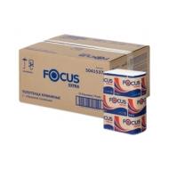Полотенца бумажные лист. Focus Extra (Z-сл), 2-сл., 200л/пач. 20*24см, тисн., белые