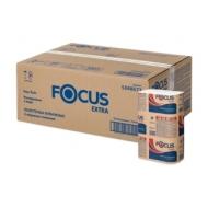Полотенца бумажные лист. Focus Extra (Z-сл) растворимые, 2-сл., 200л/пач. 21,5*24см, тисн., белые