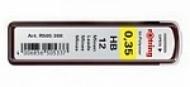 Стержни для механических карандашей Tikky, 0.35 мм