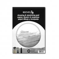 Художественная бумага для рисования Reeves, 150г/м2, A4, альбом-склейка 50 листов