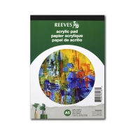 Бумага Reeves для рисования акриловыми красками, 190г/м2, A5, альбом-склейка 15 листов