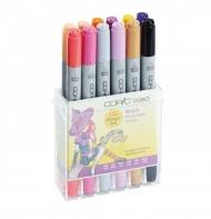 "Набор маркеров для рисования Copic Ciao ""Witch"", двусторонние с кистью, 12 цветов"