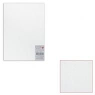 Картон белый грунтованный для живописи, 35х50 см, двусторонний, толщина 2 мм, акриловый грунт, упаковка 5 листов