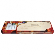 Краски масляные художественные Гамма Студия, Набор 10 цветов по 18 мл, в тубах, 201005