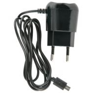 Зарядное устройство сетевое (220 В) Red line TCP-1A, кабель micro USB 1 м, выходной ток 1 А, черное, УТ000010348