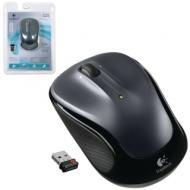 Мышь беспроводная Logitech M325, 2 кнопки + 1 колесо-кнопка, оптическая, черная, 910-002142