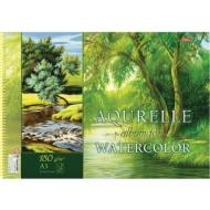 """Альбом для акварели Hatber, """"Природа"""", формат А3, спираль, подложка, 180 г/м2, 24 листа, 24Аа3Впс_18301 (A280898)"""