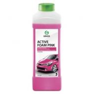Шампунь автомобильный для автоматической и ручной мойки 1 л Grass Active Foam Pink Розовая пена, 113120