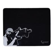 Коврик для мыши Gembird MP-GAME12 Снайпер, ткань+резина, 250x200x3 мм, черный