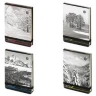 Бизнес-Блокнот А6, 100 л., твердая обложка картонная, открытие вверх, Bruno Visconti, Природа, 3-476/01