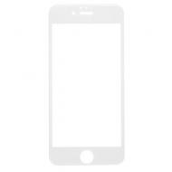 Защитное стекло для iPhone 6/6S Full Screen (3D), Red Line, белый, УТ000008165