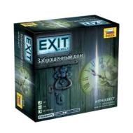 Игра настольная EXIT-КВЕСТ. Заброшенный дом, игровое поле, карточки, Звезда, 8718