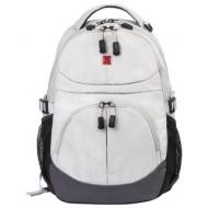 Рюкзак B-PACK S-07 (Би-Пак) универсальный, уплотненная спинка, облегчённый, белый, 46х32х15 см, 226954