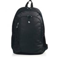 Рюкзак Brauberg B-TR1606 для старшеклассников/студентов, 22 л, черный, Навигатор, 30х17х45 см, 225291