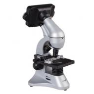 Микроскоп учебный Levenhuk D70L, 40-1600 кратный, цифровой, 3 объектива, цифРозовая камера 2 Мп, 3,6 ЖК-монитор, 14899