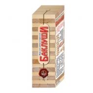 """Игра настольная """"Башня Баклуши"""", неокрашенные деревянные блоки, Десятое королевство, 01505"""