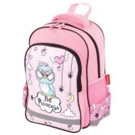 Рюкзак Пифагор School для начальной школы, OWL PRINCESS, 38х28х14 см, 228826