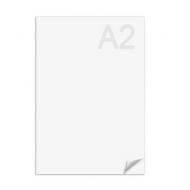Ватман А2 (594 х 420 мм) ЛенГознак, плотность 200 г/м2, водяной знак, упаковка 100 листов