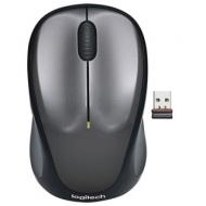 Мышь беспроводная Logitech M235, 2 кнопки+1 колесо-кнопка, оптическая, чёрно-серый, 910-002201