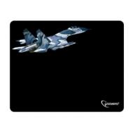 Коврик для мыши Gembird MP-GAME8 Самолет, ткань+резина, 250x200x3 мм, черный