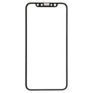 Защитное стекло для iPhone X/XS Full Screen (3D), Red Line, черный, УТ000012290