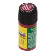 Краска акриловая для моделей Мастер-акрил, 12 красный (вишневый), Звезда, 28-МАКР