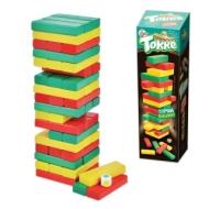 Игра настольная Башня Торре, окрашенные деревянные блоки, Десятое королевство, 01698