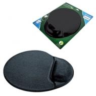 Коврик для мыши Defender, полиуретан+лайкра, 260х225х5 мм, черный, D50905
