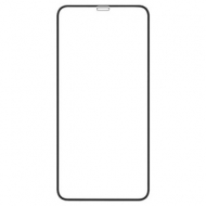 Защитное стекло для iPhone XS Max Full Screen(3D) Full Glue, Red Line, черный, УТ000016083