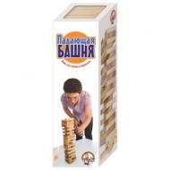 Игра настольная Башня Падающая башня, неокрашенные деревянные блоки, 10 КОРОЛЕВСТВО, 1506