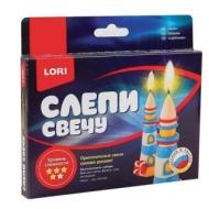 Набор для изготовления свечи Маяк, воск для лепки, фитиль, стек, LORI, Пз/С-001