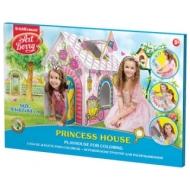 Домик игровой для раскрашивания Erich Krause Artberry Домик принцессы, картонный, 93х84х62 см, 39232