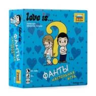 Игра настольная детская карточная Love is…Фанты, в коробке, Звезда, 8955