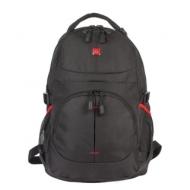 Рюкзак B-PACK S-06 (Би-Пак) универсальный, уплотненная спинка, облегченный, черный, 46х32х15 см, 226953