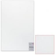 Картон белый грунтованный для живописи, 50х80 см, двусторонний, толщина 2 мм, акриловый грунт, упаковка 5 листов