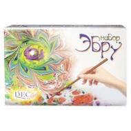 Набор для рисования на воде Эбру, краски 8х50 заготовка, порошок 85 лоток, бумага, 65-8.40-N1