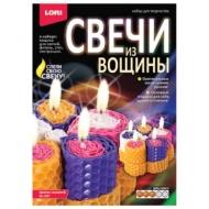 Набор для изготовления свечей из вощины Цветок желаний, восковые пластины, фитиль, стек, LORI, Вн-007