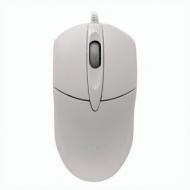 Мышь проводная Sven RX-112, USB, 2 кнопки + 1 колесо-кнопка, оптическая, белая, SV-03200112UW