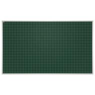 Доска для мела магнитная (85x100 см), Зеленая, В КлетКУ, алюминиевая рамка, EDUCATION 2х3 (Польша), TKU8510K