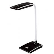 Светильник настольный Sonnen TL-LED-004-7W-12, на подставке, Светодиодный, 7 Вт, 12 LED, черный, 235542
